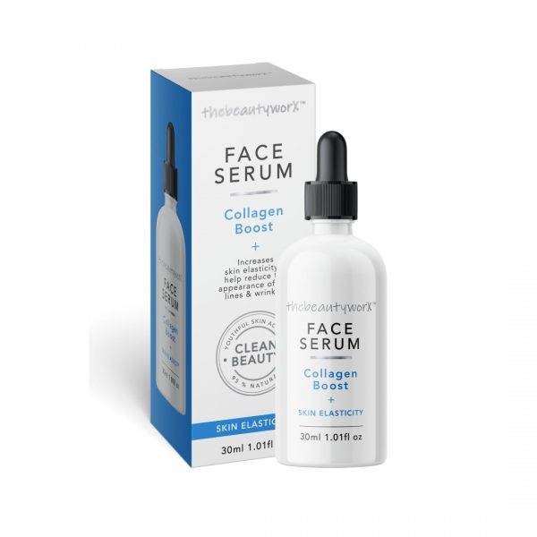 TBW Collagen Boost Face Serum Box & Bottle