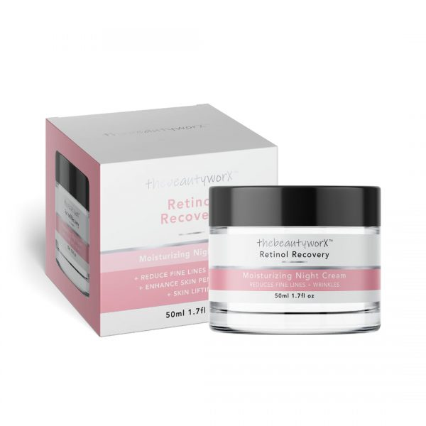 TBW Retinol Recovery Night Cream Box & Tub (2)